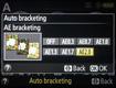Nikon D5200 EV Spacing for AEB