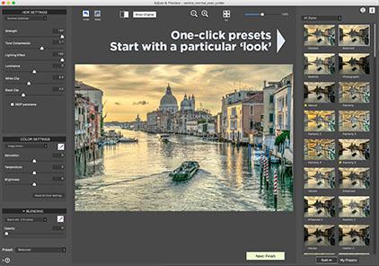 One-click preset