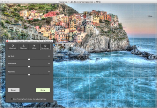Crop & Straightening Tool Photomatix Pro 6